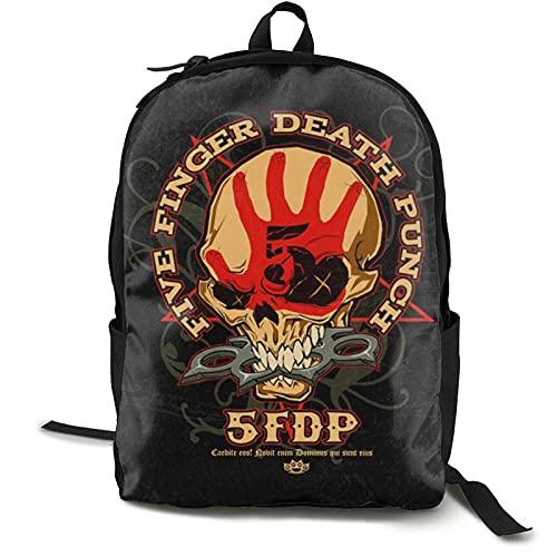 Five Finger Death Punch Mochila para portátil antirrobo para viajes de negocios