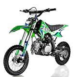 125cc Dirt Bike Pit Bike Adults Dirt Bikes Pit Bikes Youth Dirt Pitbike 125 Dirt Bike,Green
