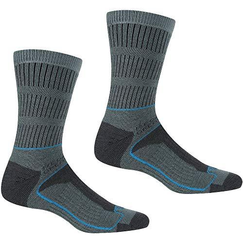 Regatta Samaris Damen-Socken für 3 Jahreszeiten., Damen, Socken, RWH045, StormySea / NiagraBlue, 39-41