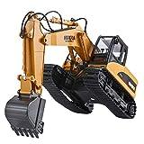15 canales 2.4G coche Escalada remoto de carga Gancho vehículos de juguete de construcción de arena tierra Excavadora Modelo Pista infantil Máquina de madera Grab inalámbrica eléctrico Simulación cubi