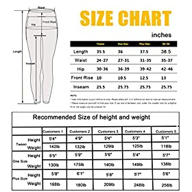 High Waisted Leggings -10+Colors -Soft Slim Pants for Women w | QYQ