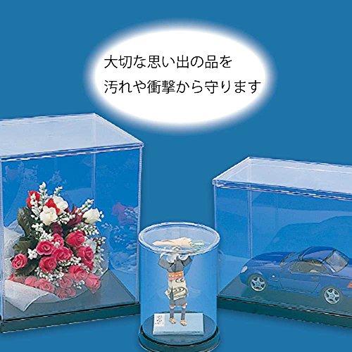 『ヘイコー コレクションケース 展示用 ウインナーケース 丸 Φ18x32cm 1個入』の2枚目の画像