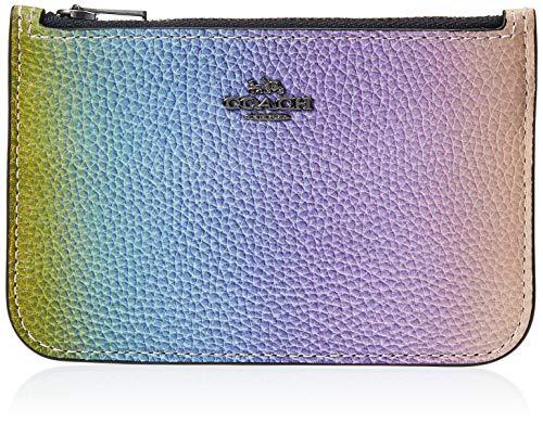Coach Mini Wallet / Card Holder Multicoloured 68004