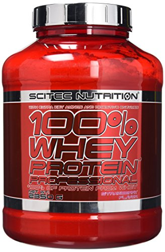 Scitec Nutrition 100% Whey Professional Protein Powder - 2350g, Strawberry