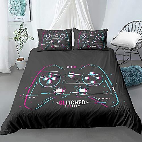 Bedclothes-Blanket Juego de sabanas Infantiles Cama 90,Conjunto de Tres Piezas de impresión 3D de Kit de Ropa de Cama almohada-11_200 * 200 cm
