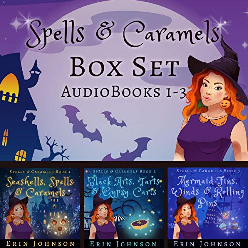 Spells & Caramels Box Set Books 1-3 cover art