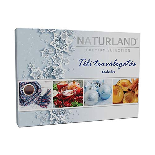 Naturland Premium Winter Natural Herbal Fruit Tea Selection Box – 30 Teabags