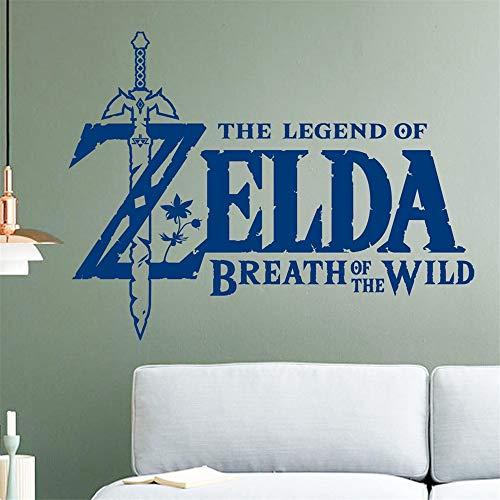 Wandtattoo Schlafzimmer Spiel für Kinderzimmer Dekor Die Legende von Zelda Atem der wilden Kinderzimmer Schlafzimmer Dekor