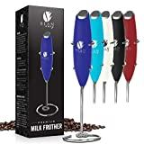 Bean Envy Milk Frother Handheld - Perfect For The Best Latte - Whip Foamer - Includes Stainless...