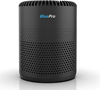 BluePro Portable Air Purifier High Grade H13 True HEPA Filter, 5-Stage Air Purification, Negative Ions, UltraViolet mode, ...