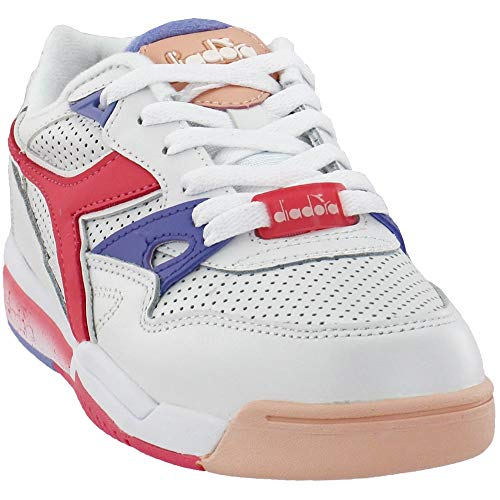 Diadora Womens Rebound Ace Lace Up Sneakers Shoes Casual - White - Size 9 B