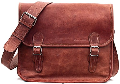 La Borsa a tracolla (M), borsa pelle vintage, la borsa...