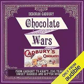 Chocolate Wars audiobook cover art