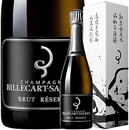 NV ブリュット レゼルヴ 日本限定ボックス ビルカール サルモン 正規品 シャンパン 辛口 白 750ml Billecart Salmon Brut Reserve NV Japan Exclusive Special BOX