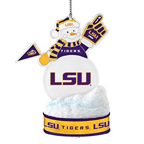 NCAA LSU Tigers LED Snowman Ornament