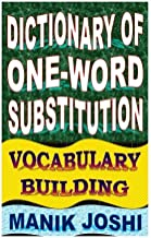 Best dictionary of one word substitution vocabulary building Reviews