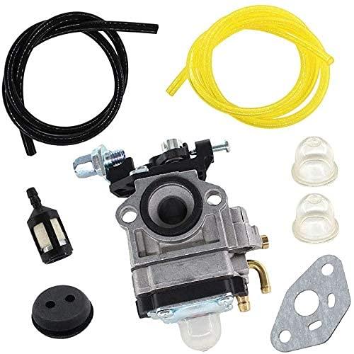 SYCEZHIJIA Carburador Tuyau con Kit de Filtro de Gasolina para Cortasetos Einhell BHS 26 / BPH 2652/1 / BG-PH 2652