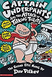 Cover of Captain Underpants and the Attack of the Talking Toilets