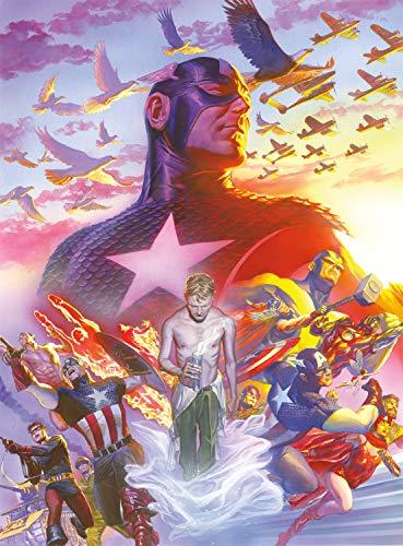 Buffalo Games - Marvel - Capitán América #22 - Rompecabezas de 1000 Piezas