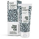 Foot Cream de Australian Bodycare, 100 ml | Removedor de durezas para hombres y mujeres | Hidratante para pies muy secos y agrietados, con 10% de urea | Con aceite de árbol del té australiano