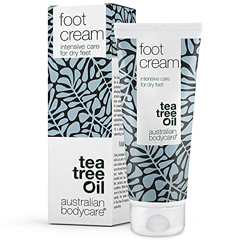 Australian Bodycare Foot Cream 100 ml | Ideale per rimuovere i duroni ed adatta per uomini e donne | Trattamento per piedi secchi e screpolati con 10% d'urea | Con olio dell'albero del tè australiano