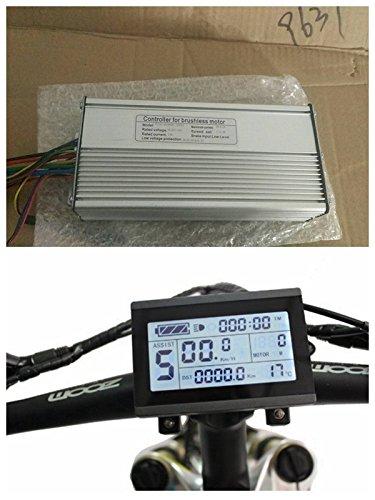 NBP-KT-ECL 36V/48V 1000W 26A Brushless DC Motor Controller eBike Controller + kt-lcd3Display One Set , Verwendet für 1000W eBike Kit.