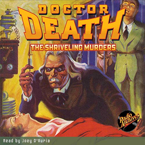 Doctor Death #3: The Shriveling Murders  By  cover art