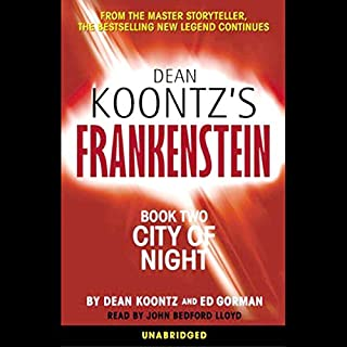Frankenstein, Book Two: City of Night audiobook cover art