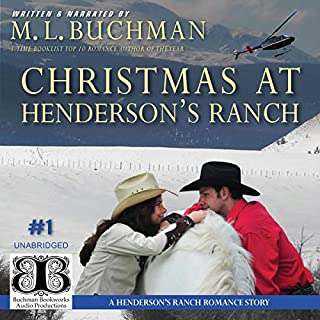 Christmas at Henderson's Ranch audiobook cover art