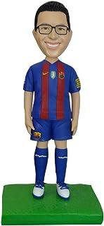sculture personalizzate da foto su misura calcio fan del calcio figurine bambole bambolina bambolina personalizzata topper...