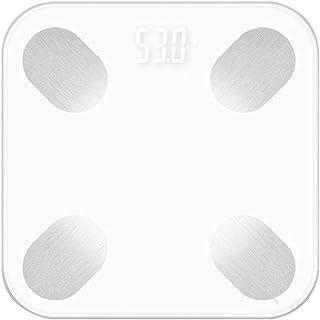 wifi smart body fat scale báscula electrónica de peso báscula de cuerpo, Blanco