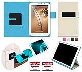 reboon Coque Samsung Galaxy Note 8.0 (GT-N5100) | in Beige | Étui Housse Cover Case Bumper...