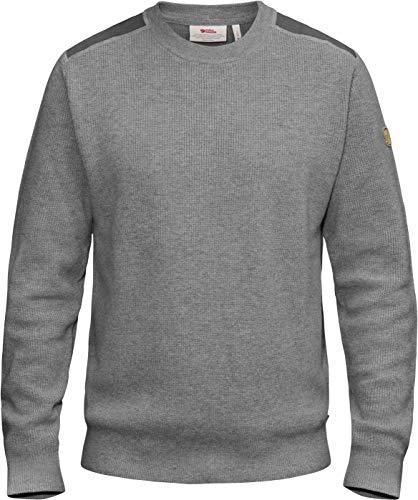FJÄLLRÄVEN Herren Pullover Sormland Crew, Grey, XL, 90199-020