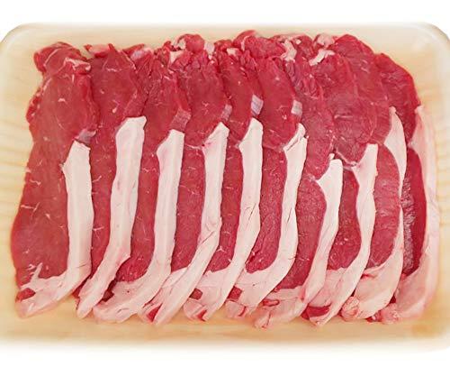 サーロイン スライス 約1kg (8〜10枚) ショートグレイン 豪州産 オージービーフ 赤身肉 冷蔵 ※返品・キャンセル不可商品です