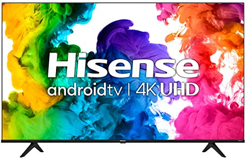 Hisense 65A68G - 65' Smart TV Ultra HD 4K Dolby Vision HDR10 Android Television with Bluetooth, Voice Remote (Canada Model) (2021)