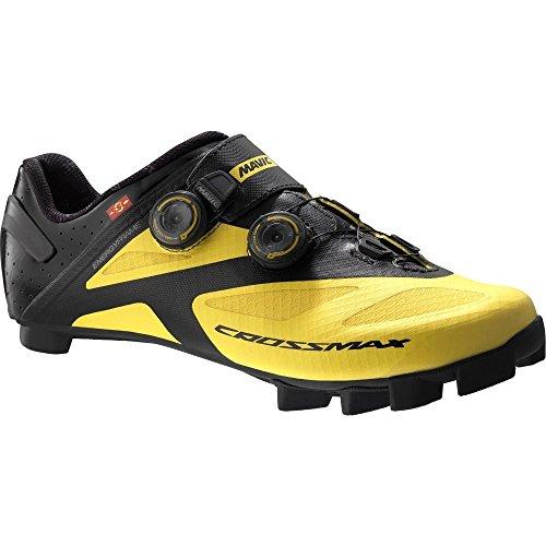 Mavic Crossmax SL Ultimate - Zapatillas - Amarillo/Negro Talla del Calzado UK 9 / EU 43 1/3 2018