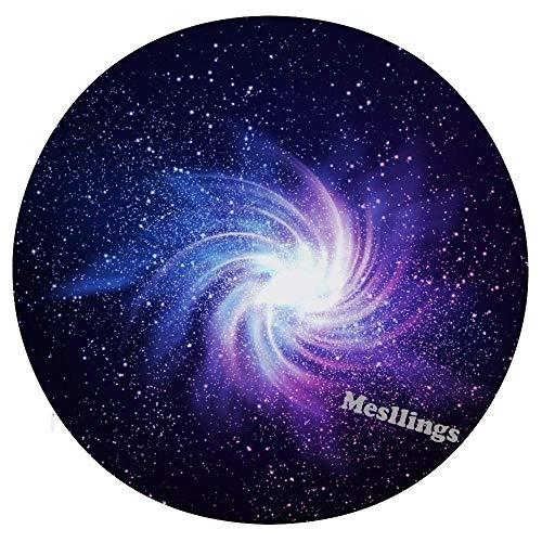 Mesllings Whirlpool In Galaxy Home Imprimé Mode Rond Confortable Coussins de Chaise Coussins de Chaise de Bureau Doux Coussin - Diamètre 15,35\