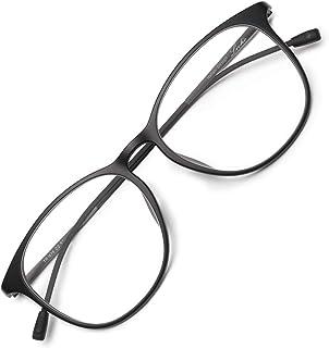 شیشه های رایانه ای بلوک Livho برای مردان ، زنان ضد چشمی UV Filter TR90 عینک های عینک قاب - 0.0 Diopter