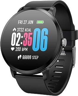 Padgene Pulsera Actividad Reloj Inteligente SmartWatch Deportivo IP67 Bluetooth con Pulsómetro Monitor de Sueño, Música, C...