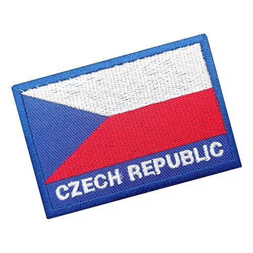 Ricamate Spagna Bandiera Bandiera aufbügler Patch 8 x 5 cm