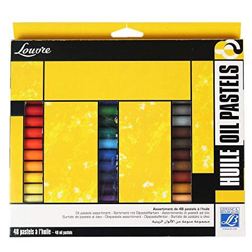 'Lefranc & Bourgeois Estudios ölpastelle'Louvre–ölpastelle 10mm de largo, multicolor, 17 x 0.5 x 2.1 cm