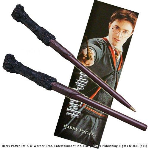 The Noble Collection Penna e segnalibro di Harry Potter.