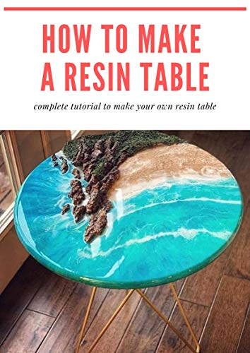 How to make a resin table: epoxy resin river table step by step