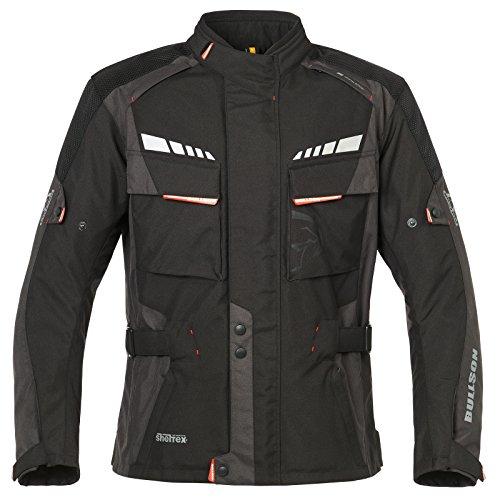 Bullson Ancona sheltex® Jacke schwarz/anthrazit XXL - Motorradjacke