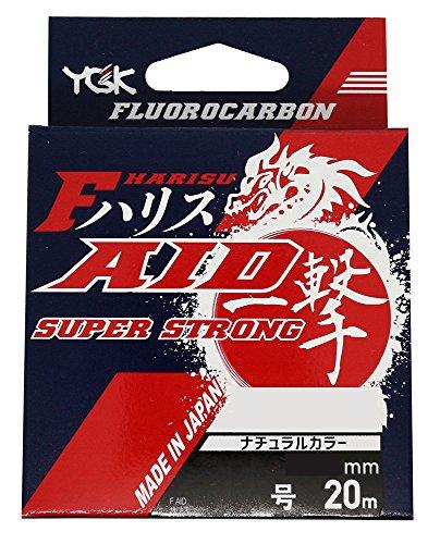 よつあみ(YGK) ハリス F-AID一撃ハリス スーパーストロング フロロカーボン 20m 10号 35lb ナチュラル