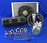 A/C-KIT-Universal-Under-Dash-Evaporator-Compressor-KIT-AIR-Conditioner 404-1-12V
