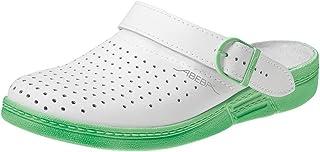 Abeba 5080-36 The Original Chaussures sabot Taille 36 Blanc/Menthe