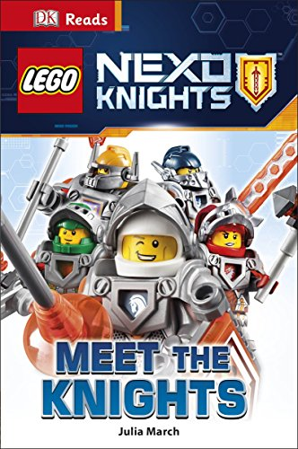 Lego Nexo Knights Meet The Knights (DK Readers Level 2)