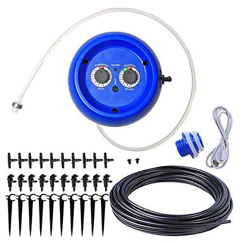 MEICHEN Automatische Tropfbewässerungssystem-Pumpensteuerung Bewässerungs-Kits mit eingebauter hochwertiger Membranpumpe für den Innenbereich