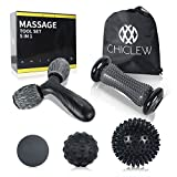 CHICLEW Balles de Massages Set de 5Pcs-Rouleau de Massage, Rouleau en...